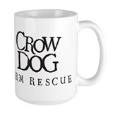 Crow Dog Farm Mug ~ Crow design