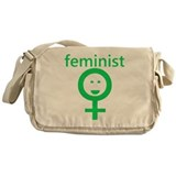 Feminist Messenger Bag