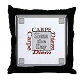 Carpe Diem Throw Pillow