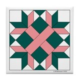 Washington Quilt Tile Coaster