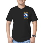 Cold War Veteran Men's Fitted T-Shirt (dark)