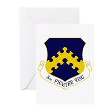 8th Fighter Wing Greeting Cards (Pk of 10)