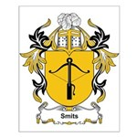 Smits Coat of Arms, Family Cr Small Poster