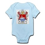 Van Sluys Coat of Arms Infant Creeper