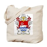 Van Sluys Coat of Arms Tote Bag