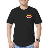 20th Fighter Wing Men's Fitted T-Shirt (Dark)