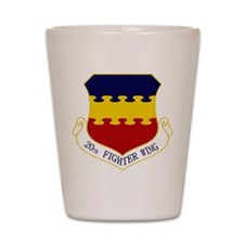 20th Fighter Wing Shot Glass