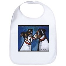RAT TERRIER kiss Bib