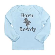 Born Rowdy Logo Long Sleeve Infant T-Shirt