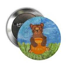 "Honey Bear 2.25"" Button (100 pack)"
