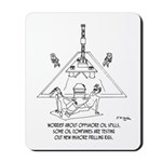 Oil Rig In A Swimming Pook Mousepad