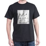 Oil Rig In A Swimming Pook Dark T-Shirt