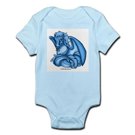Blue Dray Infant Creeper