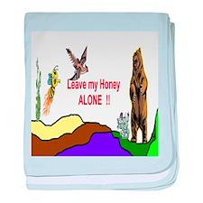 Leave My Honey baby blanket