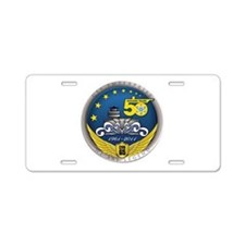 "BIG ""E"" ENTERPRISE CVN-65 Aluminum License Plate"