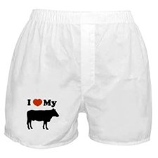 I luv my cow Boxer Shorts