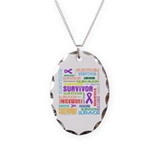 Survivor Pancreatic Cancer Necklace