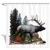 Elkaholic Shower Curtain