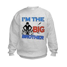 Cool Cycling Big Brother Design Kids Sweatshirt