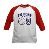 Eight Year Old Baseball Tee