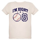 Eight Year Old Baseball T-Shirt