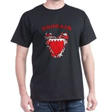 Bahrain Black T-Shirt