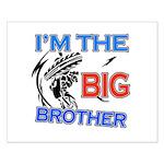 Cool Dirt Biking big brother design Small Poster