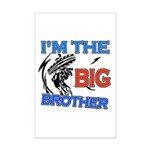 Cool Dirt Biking big brother design Mini Poster Pr