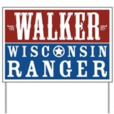 Walker Wisconsin Ranger Yard Sign