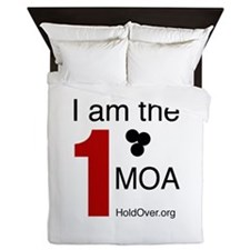 I am the 1 MOA Queen Duvet