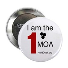 "I am the 1 MOA 2.25"" Button"