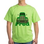 Trucker Fred Green T-Shirt