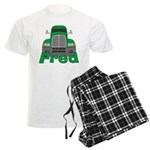 Trucker Fred Men's Light Pajamas