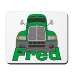 Trucker Fred Mousepad