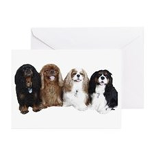 4Cavaliers Greeting Cards (Pk of 10)
