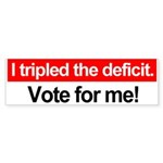 Fiscal sanity bumper sticker