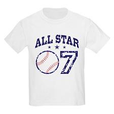 Seven Year Old Baseball T-Shirt