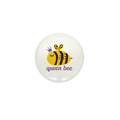 Queen Bee Mini Button (100 pack)