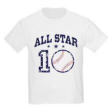 Ten Year Old Baseball T-Shirt
