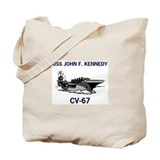 USS KENNEDY Tote Bag