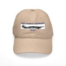 USS KENNEDY Baseball Cap
