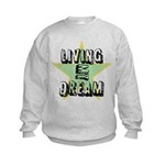 OYOOS Living My Dream design Kids Sweatshirt