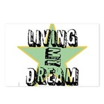 OYOOS Living My Dream design Postcards (Package of