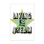 OYOOS Living My Dream design Mini Poster Print