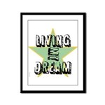 OYOOS Living My Dream design Framed Panel Print