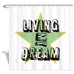 OYOOS Living My Dream design Shower Curtain