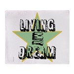 OYOOS Living My Dream design Throw Blanket