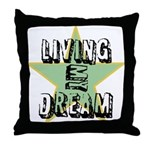 OYOOS Living My Dream design Throw Pillow