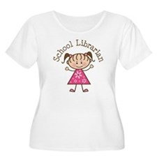 School Librarian T-Shirt
