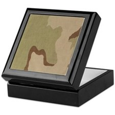 3 color desert bdu Keepsake Box